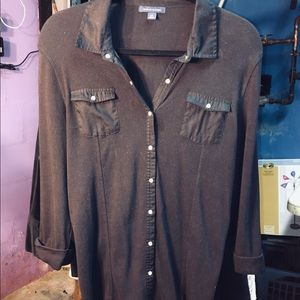 LIKE NEW tommy hilfiger collared blouse